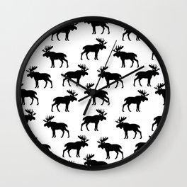 Moose Trot Wall Clock
