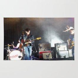 Arctic Monkeys in Williamsburg, New York Rug