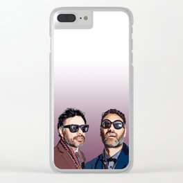 Jemaine and Taika 2 Clear iPhone Case
