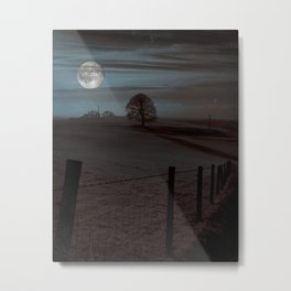 Moon Tor Metal Print