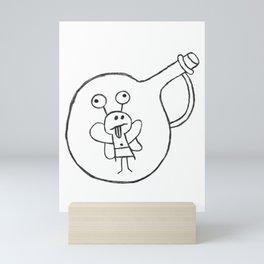 Frog Fairy in a Jar Mini Art Print