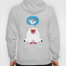 What Do Polar Bears Eat? Hoody