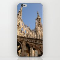 milan iPhone & iPod Skins featuring Milan by Alan Wong