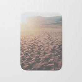 Desert Footprints Bath Mat