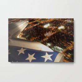 Boeing 757 Wing Timelapse Metal Print