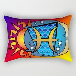 astrology,Pisces Rectangular Pillow