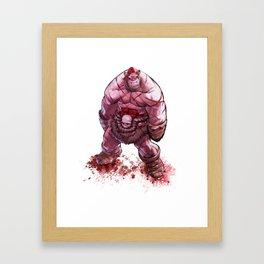 Battle Bezerker Balto Grin Framed Art Print