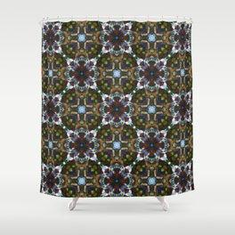 Crystal Flower - Endless Pattern Shower Curtain