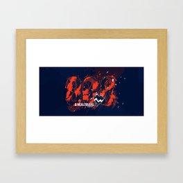 808s & Heartbreak - KW Framed Art Print