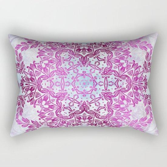 Always Save The Glitters Mandala Rectangular Pillow
