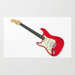 Left Handed Guitar Rug