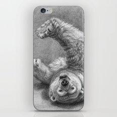 Polar Bear Stretching G039 iPhone & iPod Skin