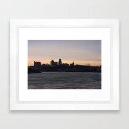 Dark City Framed Art Print