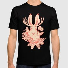 Jackalope Tattoo SMALL Mens Fitted Tee Black