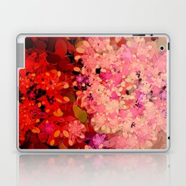 Two Different Worlds -- Floral Pattern Laptop & iPad Skin