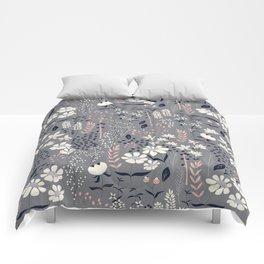 Flower garden 003 Comforters