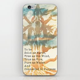 The Faerie Code iPhone Skin