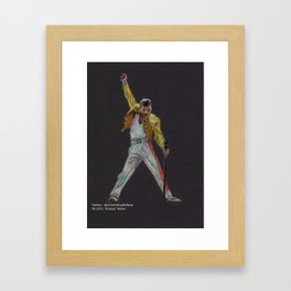 Legend Framed Art Print