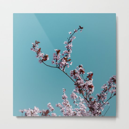 Tree in spring Metal Print