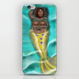 Siren in Repose iPhone Skin
