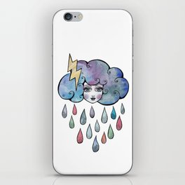 Today I am a Storm Cloud iPhone Skin