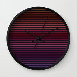 Linear Light Wall Clock
