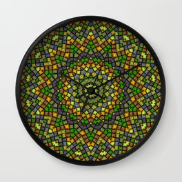 Ethnic round ornament Wall Clock