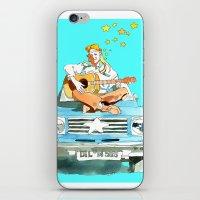 hippie iPhone & iPod Skins featuring Hippie by Ecsentrik