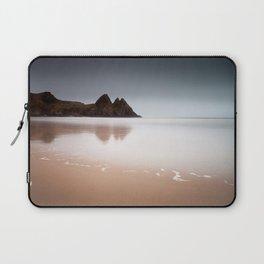 Three Cliffs Bay Gower Laptop Sleeve