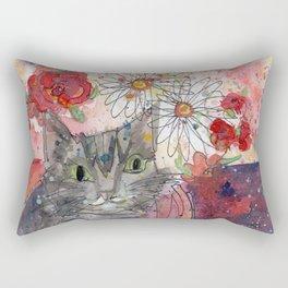 Meow Kitty Rectangular Pillow