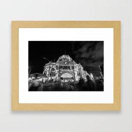 Magical (Flinders x Swanston Street, 2014) Framed Art Print