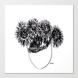 Les tournesols - Sunflowers Canvas Print