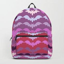 Bat Lace Unison Flight on Pink Backpack