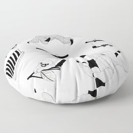 Sloth Sanctuary Floor Pillow