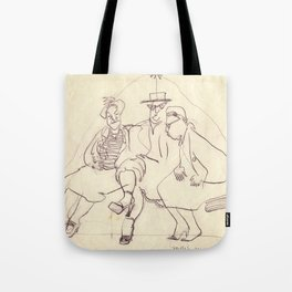 Millie's New Shoe. Copyrighted image by Dorothy Messenger Tote Bag