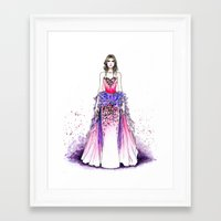 sparkle Framed Art Prints featuring Sparkle by Tania Santos