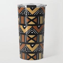 Mud cloth Mali Travel Mug