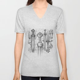 Iron-Sung Swords Stories Unisex V-Neck