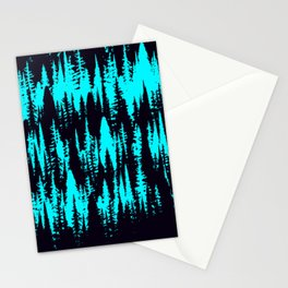 Forest Line II Stationery Cards