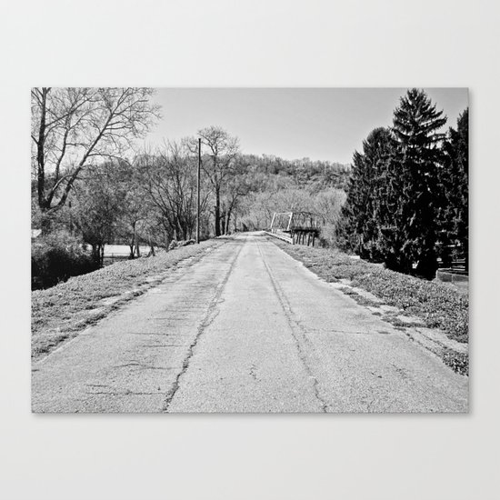 Long Road To Ruin Canvas Print