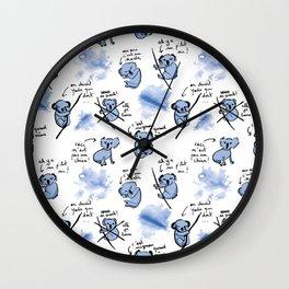 Weird koalas Wall Clock