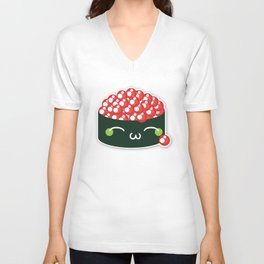 Happy Sushi Unisex V-Neck