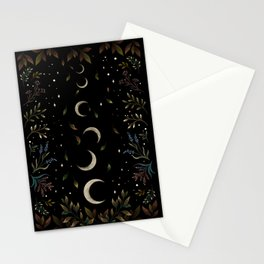 Crescent Moon Garden Stationery Cards