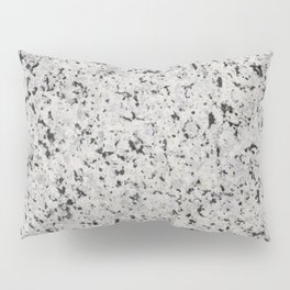Black and white granite Pillow Sham