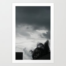 Zeus is Coming Art Print