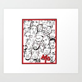 Members only (MO) Art Print