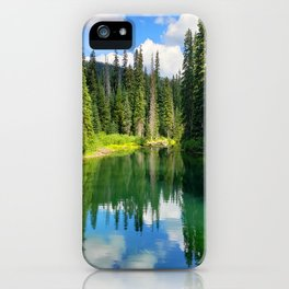 Pacific North West Alpine Lake iPhone Case