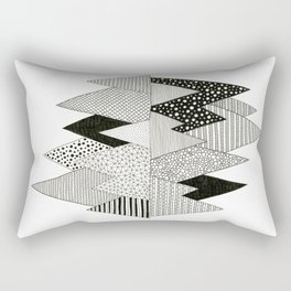 Lost in Mountains Rectangular Pillow