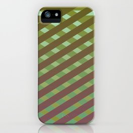 Variation of pattern by grey tones 4 iPhone Case