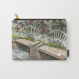 Urban watercolor - Costa Rica Carry-All Pouch